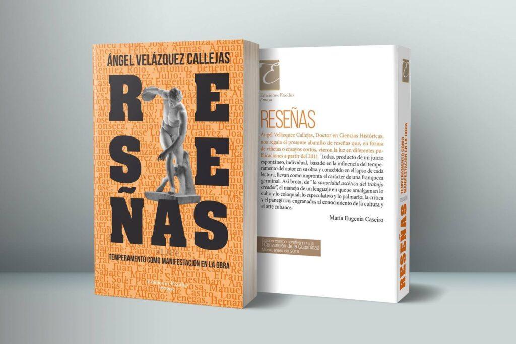 «Reseñas: temperamento como manifestación en la obra» (Vol. 1) de Ángel Velázquez Callejas