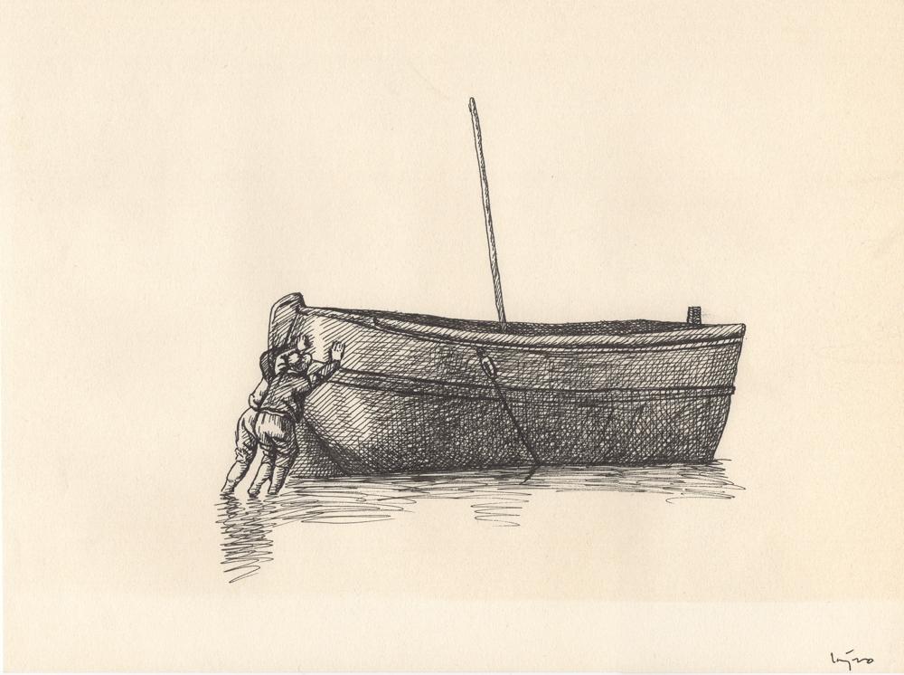 Dibujos de Lázaro García Medina