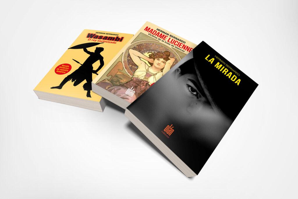 Tres novelas de Hernán Bernardo Medina