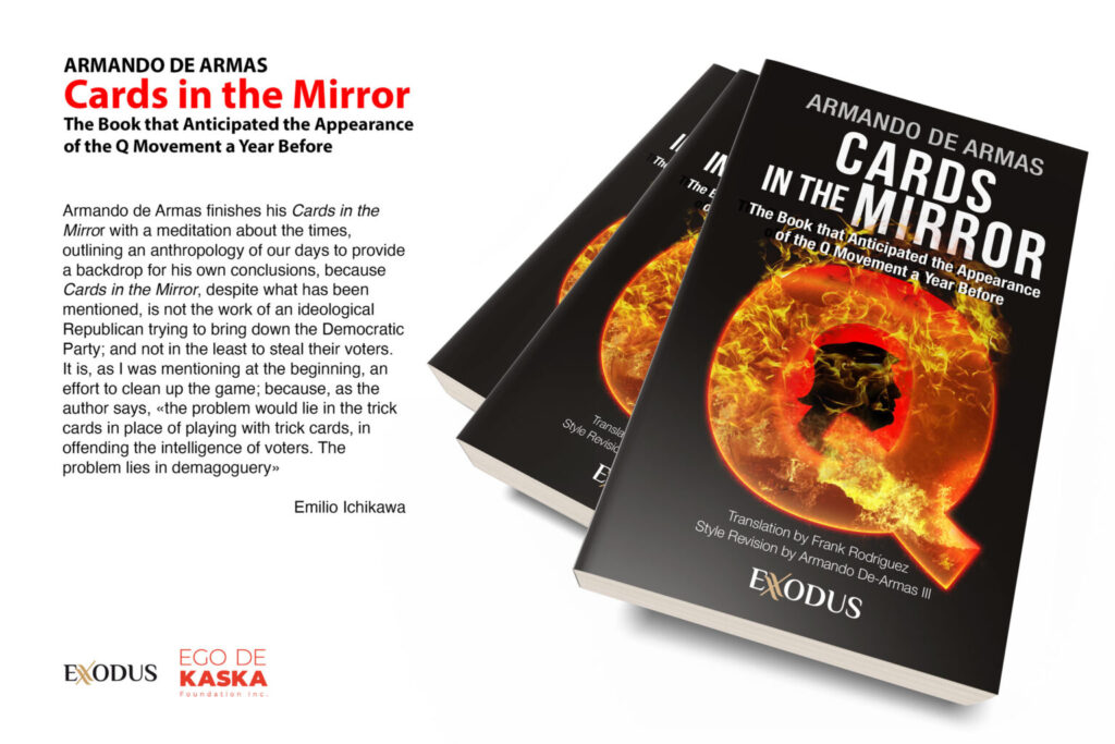 «CARDS IN THE MIRROR»,  ARMANDO DE ARMAS