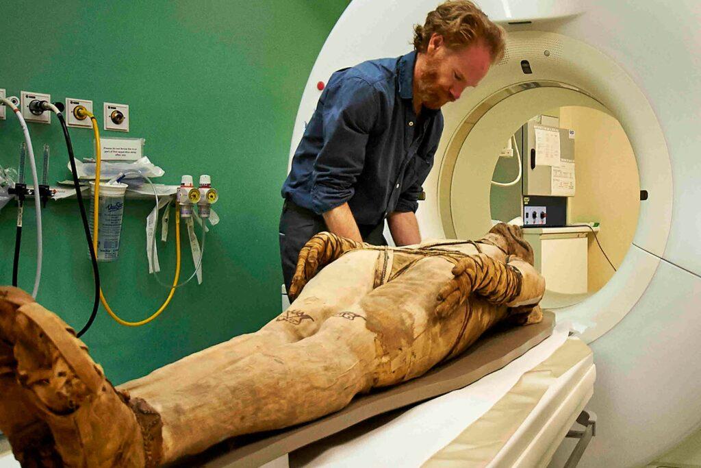 Recrean la voz de una momia egipcia de 3.000 años de antigüedad