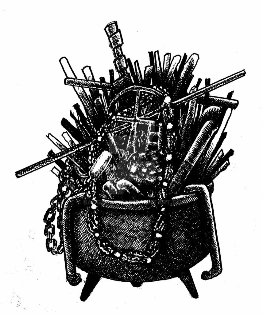«Nganga», palero y  morfología celeste