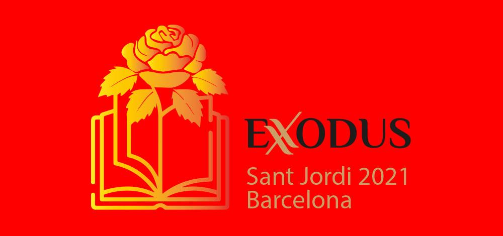 Seis libros y una revista de Ediciones Exodus en la «Feria de Sant Jordi»