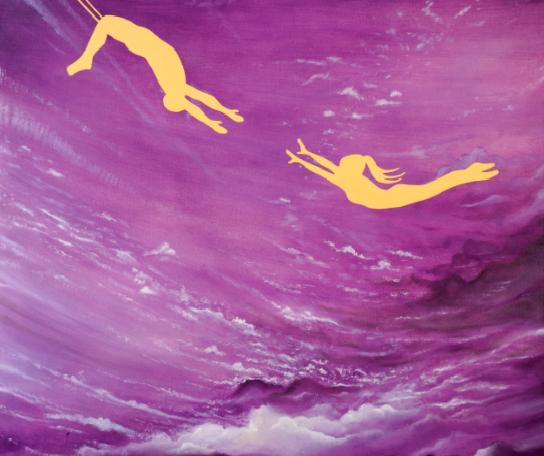 Poesía y color en «Juegos del inconsciente» de Daphne Rosas