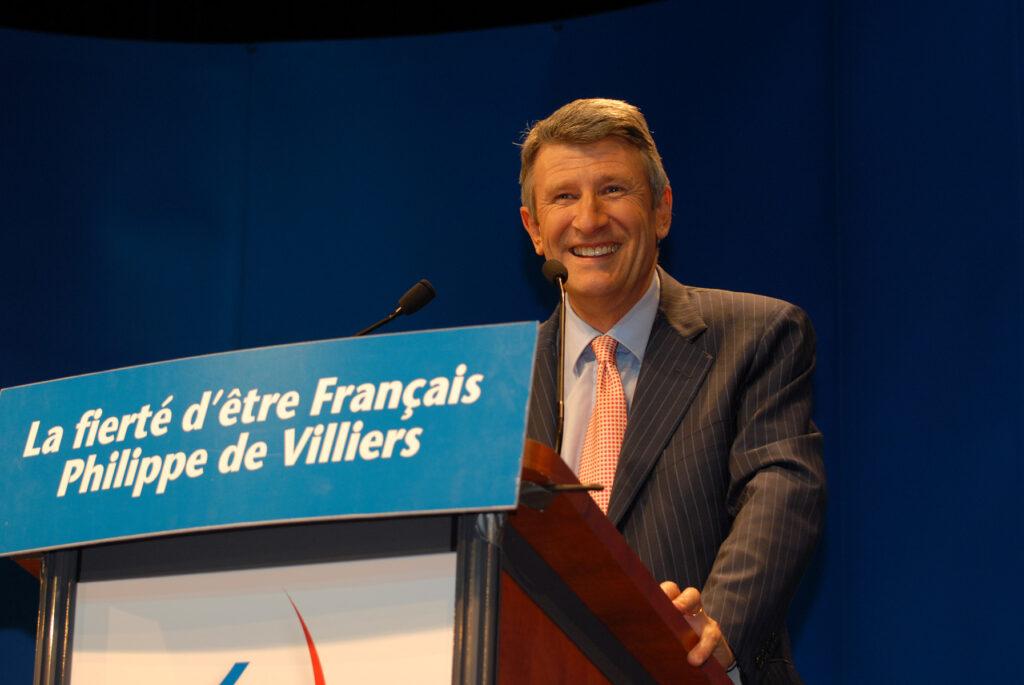 Entrevista a Philippe de Villiers