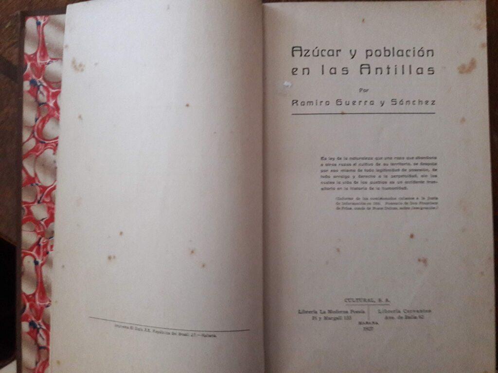 El «proyecto Jaksoniano» de Ramiro Guerra para Cuba