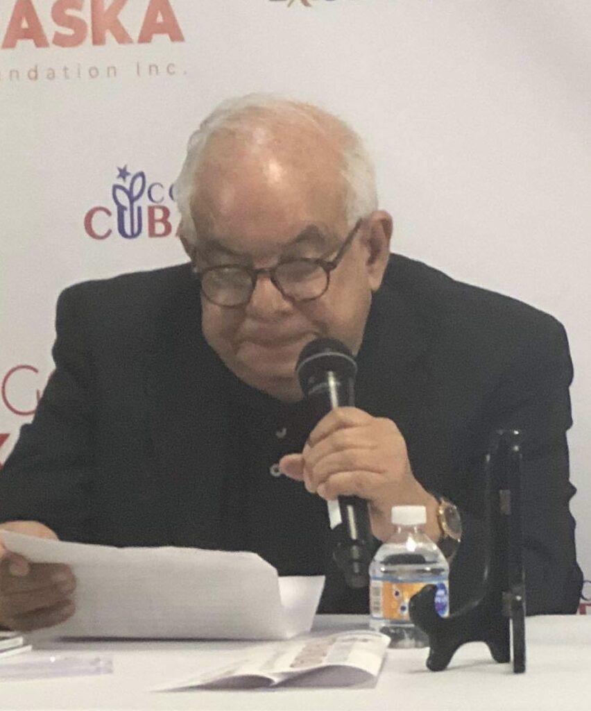 Lo nuevo y lo antiguo en la cultura cubana ('Nova et vetera')